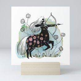 Sagittarius Mini Art Print