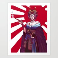 The Demoness Art Print