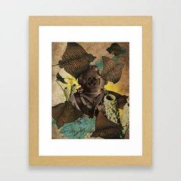 Mantas Framed Art Print