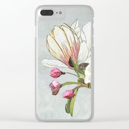 Magic in the air - blossoming Clear iPhone Case