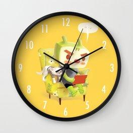 Hmm Wall Clock