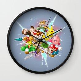 Keep Calm and Smash! Wall Clock