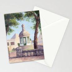 Tiny old mediterranean chapel Stationery Cards