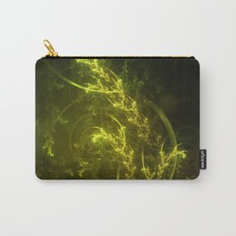 Magical Fractal Fairy Ferns in an Emerald Forest Carry-All Pouch