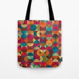 Energy Deco Retro Pattern Tote Bag