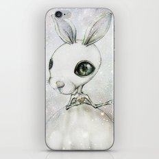 Delicate Rabbit iPhone & iPod Skin