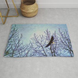 On Winter's Winds Rug