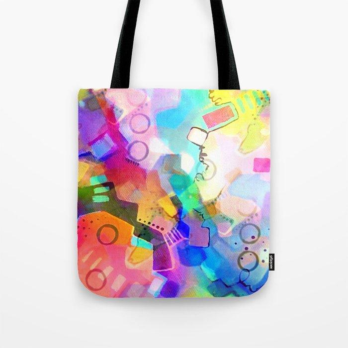 Fall Into Color Tote Bag