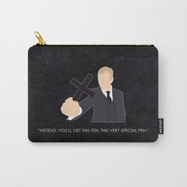Being Human - Dominic Rook Carry-All Pouch