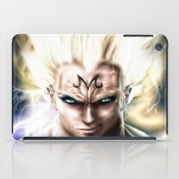 vegeta iPad Cases featuring Majin Vegeta real style portrait by Shibuz4