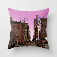 Light Falls in Strange Ways Throw Pillow