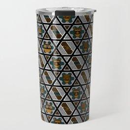 Greek Art, Frets and Vases Travel Mug