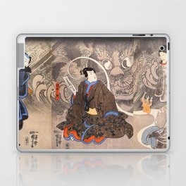 Apparition of the Monstrous Cat Laptop & iPad Skin
