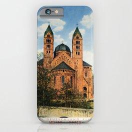 retro Speyer am Rhein iPhone Case