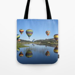 Bear Valley Reflection Tote Bag