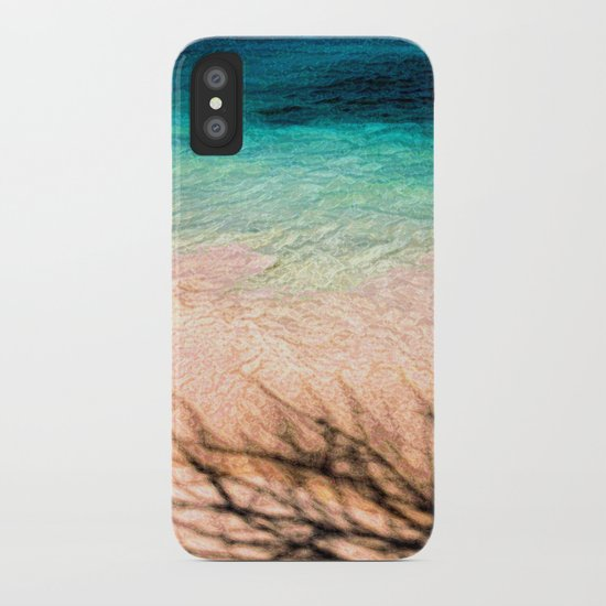 SEA AND TREE iPhone Case