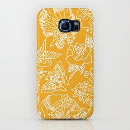 Mustard print iPhone Case