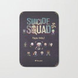 16-bit Suicide Squad Bath Mat