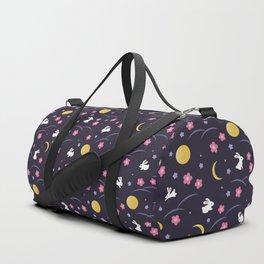 Moon Rabbits V2 Duffle Bag