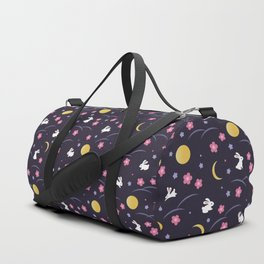 Moon Rabbits V2 Duffle Bag