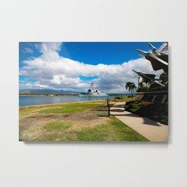Navy Ship 1 Metal Print