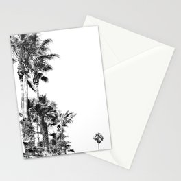 Black and White Palm Trees- Baby Palm Stationery Cards