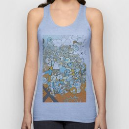 Nested Composition 3 Unisex Tank Top