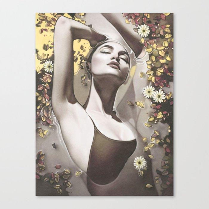 Glide Canvas Print by annadittmann