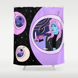 Robin Eisenberg x Francisca Valenzuela Shower Curtain
