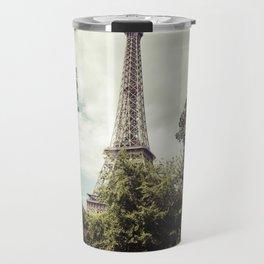 Vintage Paris Landscape Travel Mug