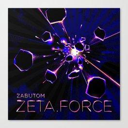 Zeta Force artwork Canvas Print