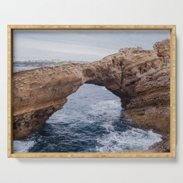 Biarritz Rock Arch Serving Tray