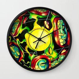 mitochondria plasma ball Wall Clock