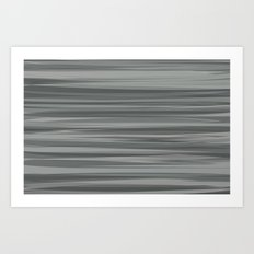 Sea of Greys Art Print
