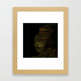 Lady of the Night Framed Art Print
