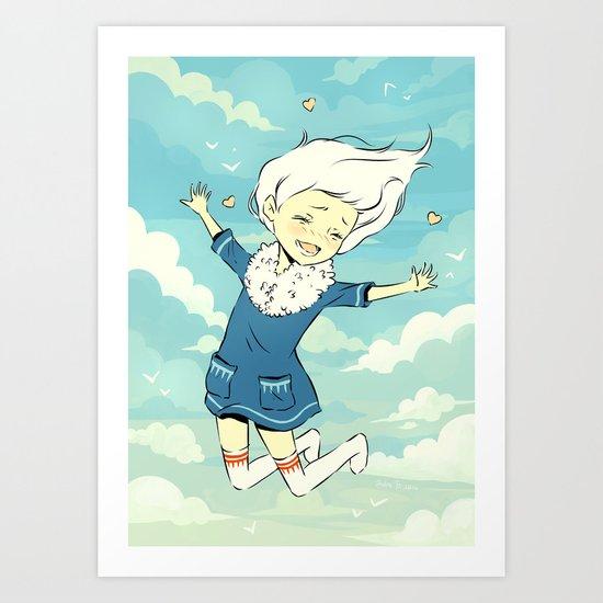 Spring Sky Art Print