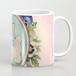 Kitschy Pink Kitten Coffee Mug