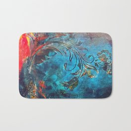 Flame of the Forest Bath Mat
