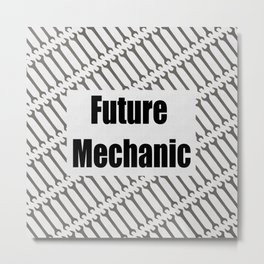 Future Mechanic Metal Print