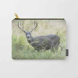 Stag in Yosemite Carry-All Pouch
