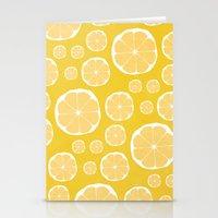 lemon Stationery Cards featuring Lemon by Make-Ready