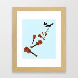 Uke Em Framed Art Print