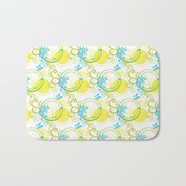 Swirls & Circles Bath Mat