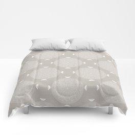 Foam Latte Rosette Lace Comforters