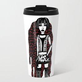 Designer T-Shirt EMO Illustration Travel Mug