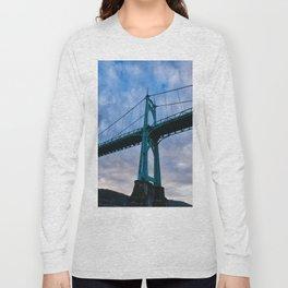 St. Johns Bridge, Gothic Tower Long Sleeve T-shirt