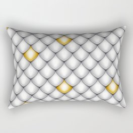 Fish Scale Pattern Design Rectangular Pillow