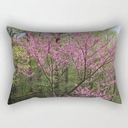 Blooming Woodland Rectangular Pillow