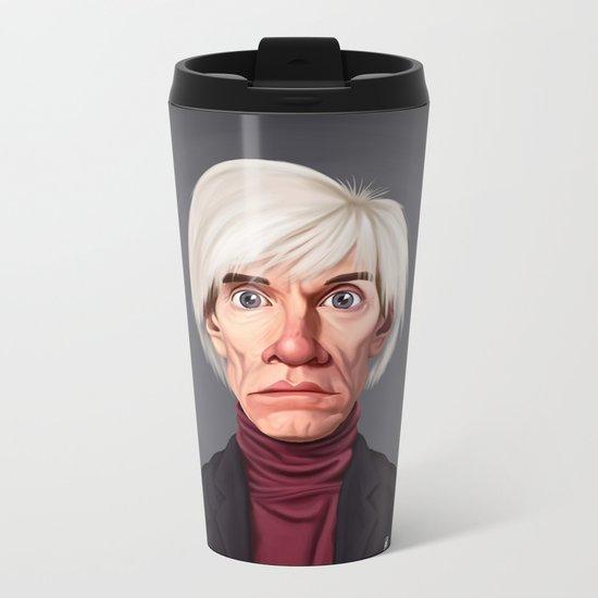 Celebrity Sunday ~ Andy Warhola Metal Travel Mug