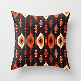 American Native Pattern No. 172 Throw Pillow